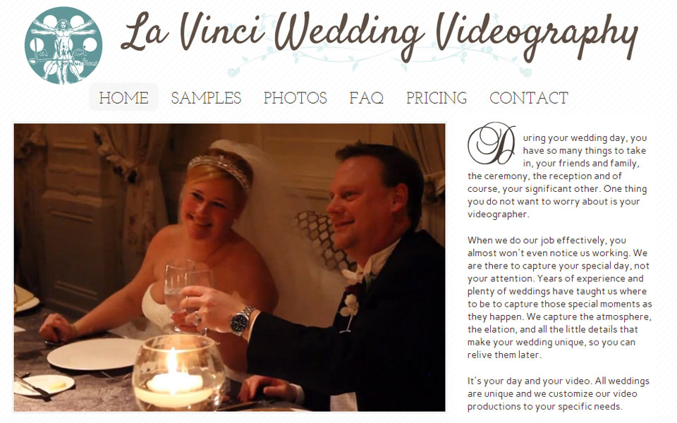 La Vinci Weddings Sample 1